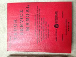 1963 1964 DODGE TRUCK MODELS Service Shop Repair Manual FACTORY OEM BOOK - $69.25
