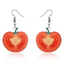 Farmers Delight Tomato Earrings *** 12318 >> Combined Shipping - $3.90