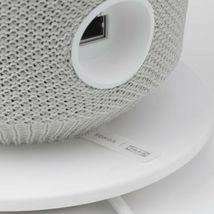 SYMFONISK Table lamp with WiFi speaker, white image 7