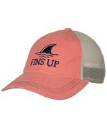 Landshark Fins Up Salmon Colorway Adjustable Hat Pink - $34.98