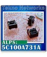 ALPS - SPST Tactile Switch -10pcs [ 5C100A731A ] - $0.90