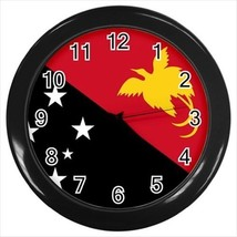 Papua New Guinea Flag Wall Clock - £13.30 GBP