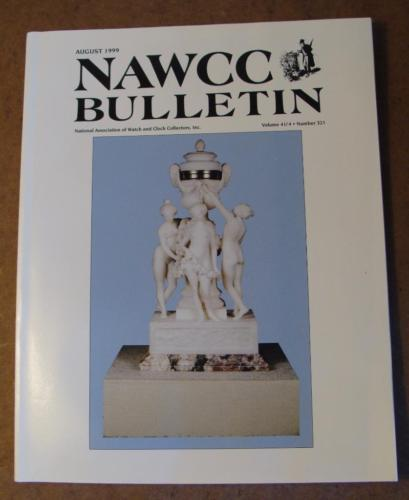 NAWCC Bulletin #321 Aug 1999 LCD Watches London Underground Virtual Clock  V 41