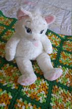 "Build a Bear White Sassy Kitty Cat 17"" inches P... - $13.00"