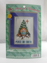 Janlynn Spirit of Christmas Nativity Peace On Earth Ctd Cross Stitch Kit... - $9.45