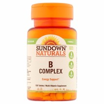 Sundown Naturals B Complex Dietary Supplement, 100 count - $5.89