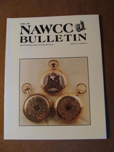 NAWCC Bulletin #295 April 1995 FM Fedchenko T. Harland E. Howard J. Ives V. 37