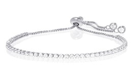 Swarovski Elements Tennis Bracelet - Sterling Silver NWOT - $39.99