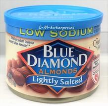 Blue Diamond Lightly Salted Low Sodium Almonds 6 oz  - $6.88