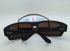 Polarized MAUI JIM Sunglasses PEAHI MJ 202-02 Gloss Black Frame w/ Neutr... - $229.95