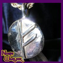 Fehu Rune Pendant Abundance Financial Strength Success Happiness! Viking... - $99.99