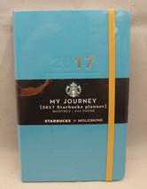 Starbucks Coffee by Moleskine Thailand My Journey Monthly Planner Blue 2... - $37.75