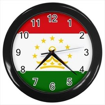 Tajikistan Flag Wall Clock - £13.30 GBP