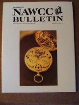 NAWCC Bulletin #293 Dec 1994 Clark Tourbillons Elgin S Hasham Tower Clocks V. 36