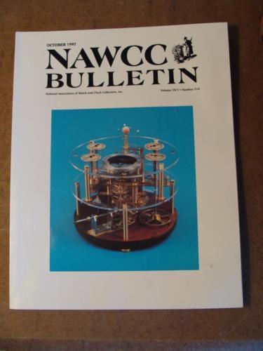 NAWCC Bulletin #310 Oct 1997 Webb C. Ball Dennison E. Howard V. 39