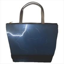 Thunderstorm Lightning Bucket Bag - $29.59
