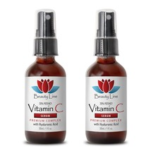 Hyaluronic Acid Serum - Vitamin C Serum 30ml - Reduces Skin Inflammation 2B - $30.64