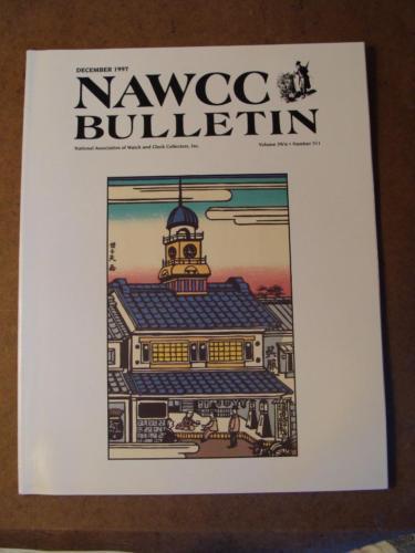 NAWCC Bulletin #311 Dec 1997 Pallet Escapements Japanese Precision 30-Hour V. 39