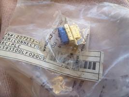 207253-1 AMPLIMITE GOLD CONN D-SUB RCP 9 POS 2.7MM CRMP 593500LF02009 NE... - $9.90