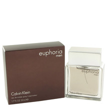 Euphoria by Calvin Klein Eau De Toilette Spray 1.7 oz For Men - $31.95