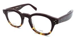 Celine Rx Eyeglasses Frames CL 41410 AEV 45-22-145 Burgundy Havana Made ... - $136.61