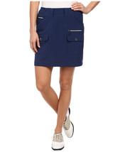 Nwt Ladies Jamie Sadock Nocturnal Navy Blue Airware Skort - Size 2 $110 - $54.99