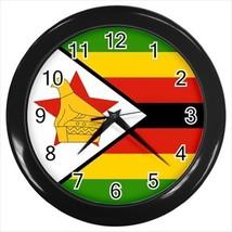 Zimbabwe Flag Wall Clock - £13.89 GBP