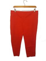 Ann Taylor Loft Marisa Tomato Red Pant - $9.99
