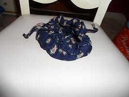 Vera Bradley jewelry pouch in retired navy pattern - $16.50