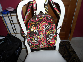 Vera Bradley  backpack in retired Puccini pattern - $40.00