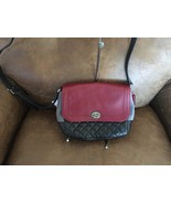 NWT Coach Park Quilted Colorblock Crossbody F24982 - $82.33