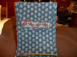 Vera Bradley Classic Navy envelop pouch - $16.00