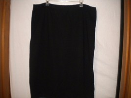 Outlander by Leslie Fay Plus Size 3+ Black #301... - $15.83