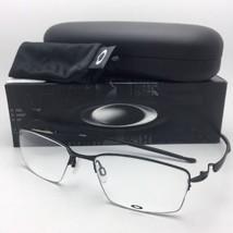 New OAKLEY Eyeglasses LIZARD OX5113-0154 54-18 135 Semi-Rimless Satin Black - $209.95