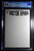 Star Wars Doctor Aphra #1 Sketch Edition Blank Variant Cover Comic CGC 9.8 - $70.00