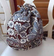 Vera Bradley ditty bag in Slate Blooms pattern - $17.00