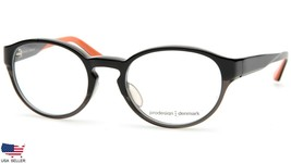 PRODESIGN DENMARK 4668 1 c.6032 BLACK EYEGLASSES FRAME 50-19-135mm Japan... - $54.44