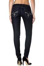 Rock Revival Women's Jeans Skinny Cut Jean Dark Denim Kailyn S201 image 2