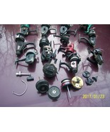 23 fishing reels for repair + extra parts Berkley Master Swift Daiwa Oly... - $15.00