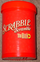Scrabble To Go Game 2006 Parker Brothers New Unused Sealed Parts - $20.00