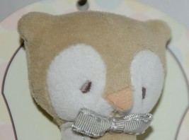 Grassland Roads 461773 Owl Cloth Squeaker Baby Toy 6 Inches Long image 2