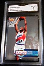 1994 Upper Deck Holojam Charles Barkley GMA Graded 8 NMMT Holojam Basket... - $5.99