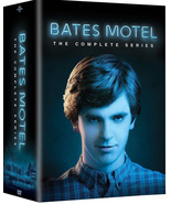 Bates Motel: The Complete Series (DVD, 2017, 15-Disc Set) Includes all 5... - $29.99