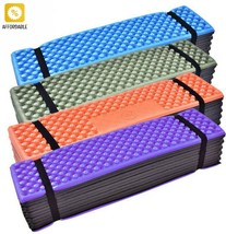Outdoor Mattress Camping Mat Ultralight Foam Seat Folding Beach Tent Pic... - £21.18 GBP