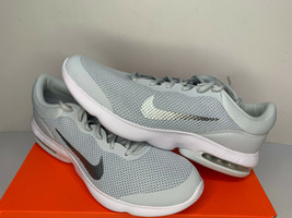 NIB SIZE 15 MEN Nike Air Max Advantage Running Shoes Platinum White Trai... - $39.59
