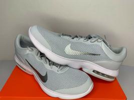 NIB SIZE 15 MEN Nike Air Max Advantage Running Shoes Platinum White Trainer NEW  image 1