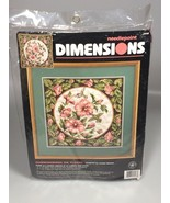 Hummingbirds flowers Needlepoint Kit Dimensions Pillow Picture Moskal - $49.99