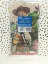 Toy Story 4 Tablecover Plastic 54 x 84 Buzz Woody Bo sealed new!!! image 2