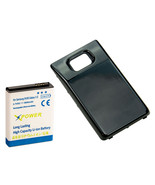 Long Life 3600mAh Extended Battery + Cover for Samsung Galaxy S2 i9100, ... - $10.88