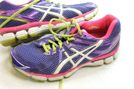 Asics GT 2000 Running Shoes Womens Size 7 Purple Pink Sneakers - $24.75